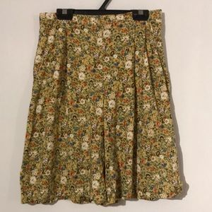 Pants - Vintage High waisted floral short